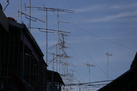 antennas: The antennas Stock Photo