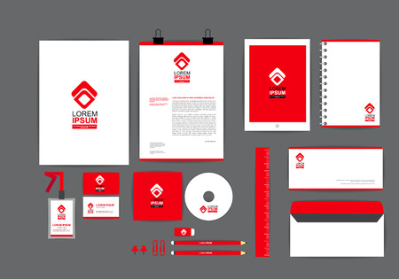 the envelope: corporate identity template  for your business G