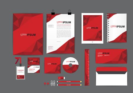 あなたのビジネス H 企業の id テンプレート  イラスト・ベクター素材