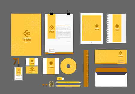letter envelope: corporate identity template  for your business Z