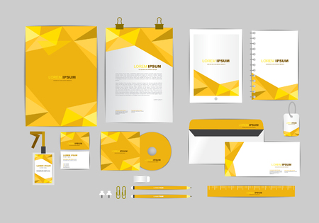 corporate identity template  for your business 011
