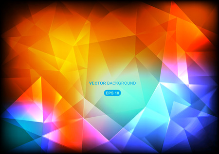 imposition: colourful abstract geometric background with polygons