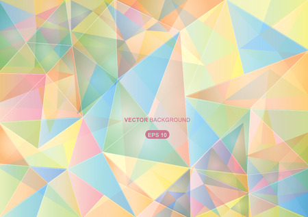 pastel colors abstract geometric background with polygons