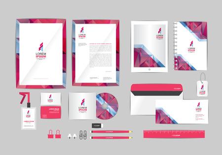 corporate identity sjabloon voor uw bedrijf 022