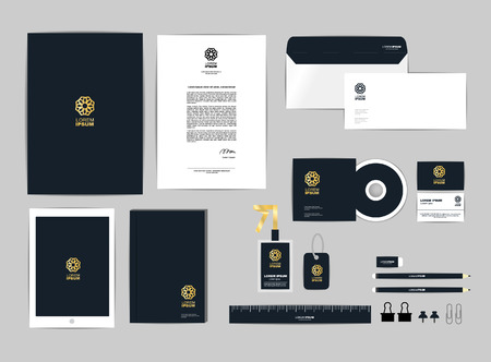envelope: corporate identity template