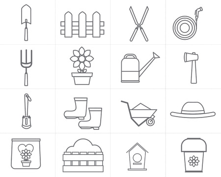 watering hose: icon garden vector design