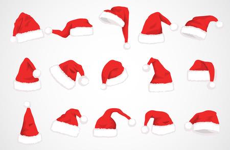 hat santa claus vector design