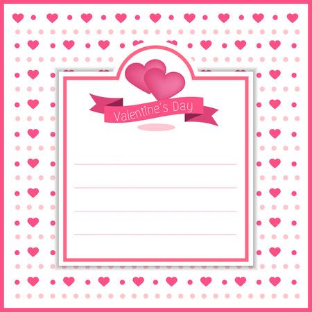 valentine banner template design no7