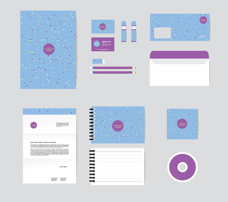 corporate identity template for your business includes CD Cover, Business Card, folder, Envelope and Letter Head Designs No.4