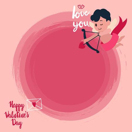 valentine banner template design no13