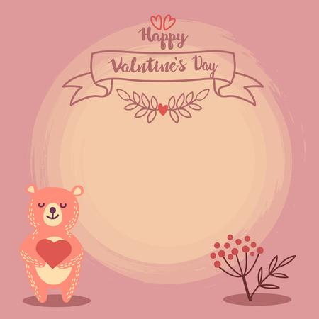 valentine banner template design no18
