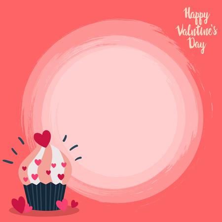 valentine banner template design no19 일러스트