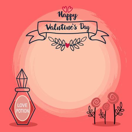 valentine banner template design no21