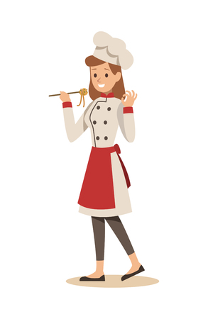 chef cooking in restaurant character design no.8