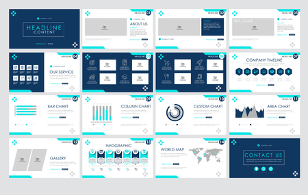 Templates  presentation for annual report, banner, flyer, leaflet, brochure, corporate report, marketing, advertising. vector design. no4