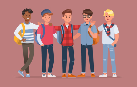 student character vector design no4
