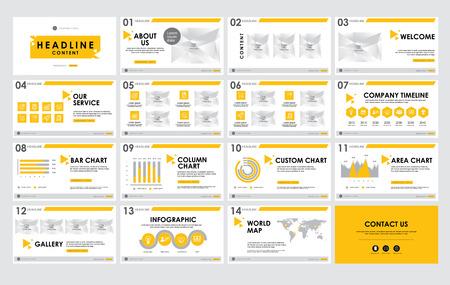 Templates  presentation for annual report, banner, flyer, leaflet, brochure, corporate report, marketing, advertising. vector design. no3 Ilustração