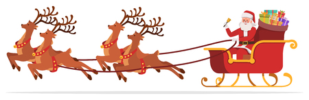 Santa Claus character vector design. no6