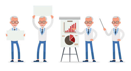 business people vector character design no5