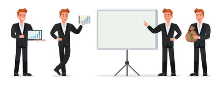 business people vector character design