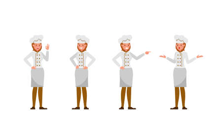 Chef woman character vector design.