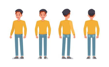 Man character vector design. 矢量图像