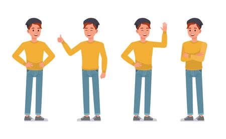 Man character vector design. no2
