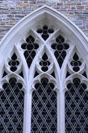 flower shaped window