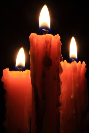 burning: Flame of burning candles