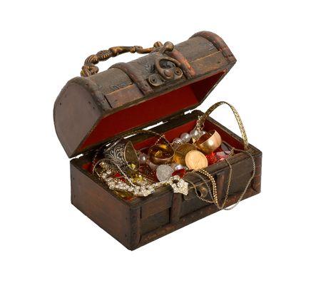 오래된 보물 상자