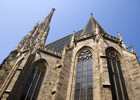 catholical: St  Stephen Cathedral in Vienna Stock Photo