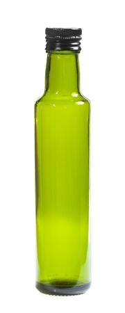 Green bottle isolated on white background Stock Photo