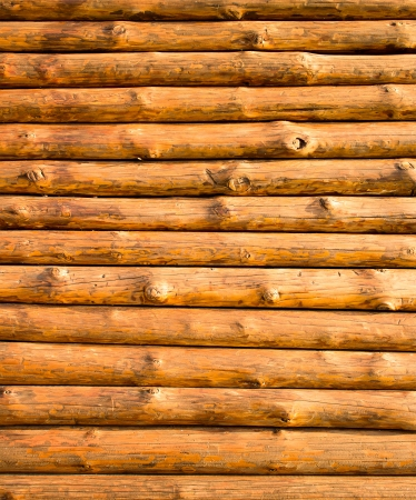 Block house wooden wall  Log hut background vertical