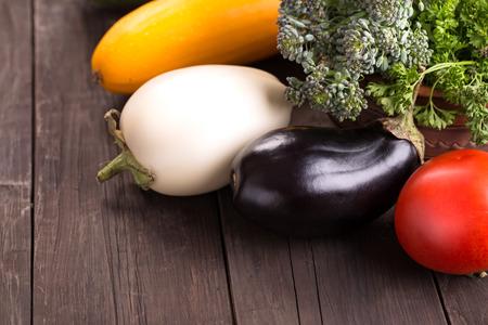 boozer: Zucchini, eggplants,  tomato and other vegetables
