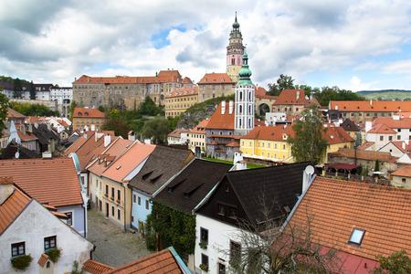 Cityscape of  Cesky Krumlov Czech Republic photo