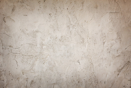 plastered wall: Cracked old plastered wall background