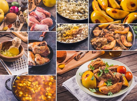 quinces: Chicken and quinces recipe