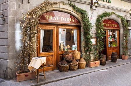 Trattoria tradicional en Florencia