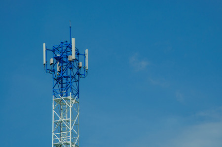 antennae: The phone transmission towers