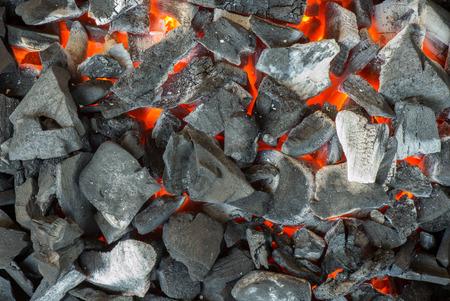 torrid: Heat barbecue charcoal