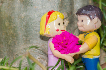 Toys expression of love On Valentine's Day