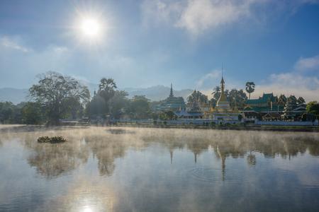 Wat Chong Kham and Wat Chong Klang, Mae Hong Son in Thailand