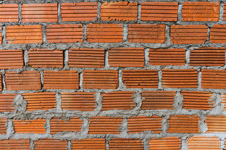 solid background: building Brick texture background Stock Photo