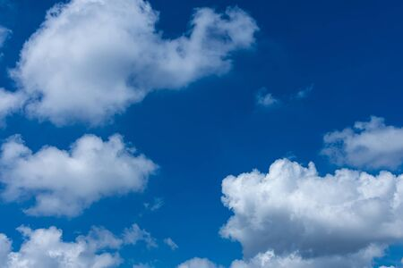 White cloud on blue sky on day time