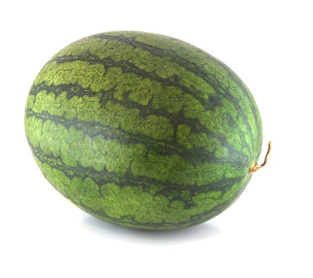 Watermelon isolated on white background Stock Photo - 14585279