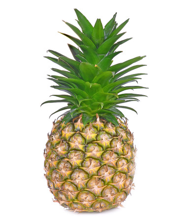 Pineapple isolated on a white background Stock Photo