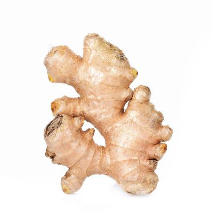 Ginger fresh isolated on white background