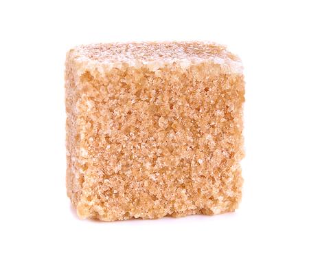 cane sugar: Brown cane sugar cubes