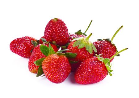 Strawberrys isolated on white background