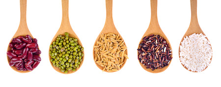 rajma: Cereal Grains , Seeds,Beans , isolated on white background
